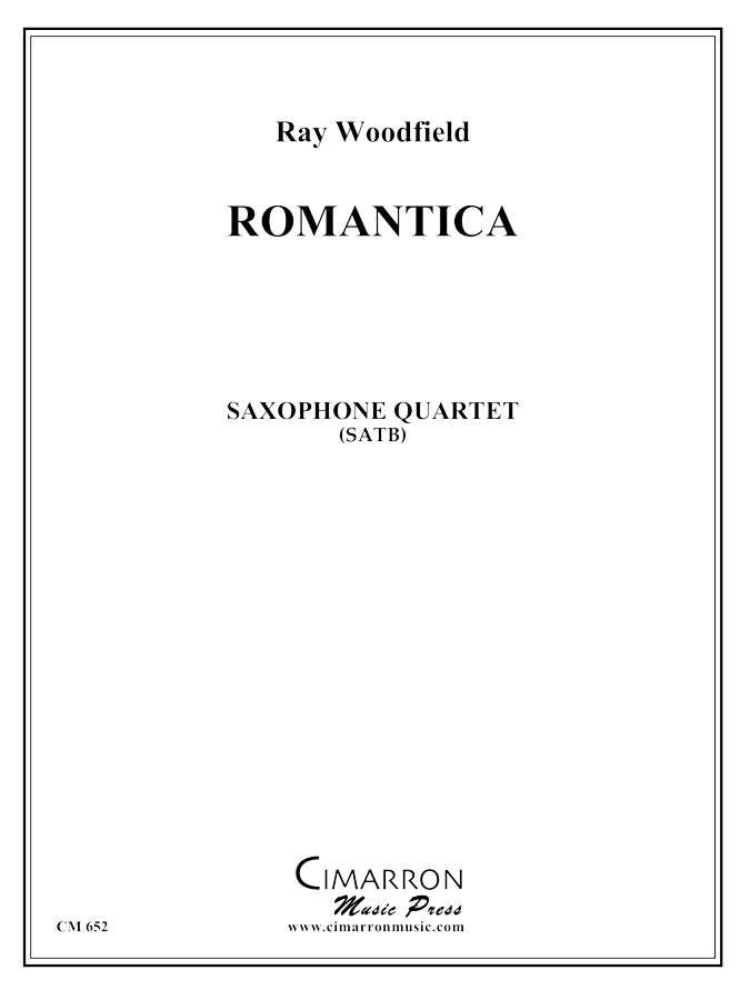Woodfield - Romantica - Saxophone Quartet (SATB)