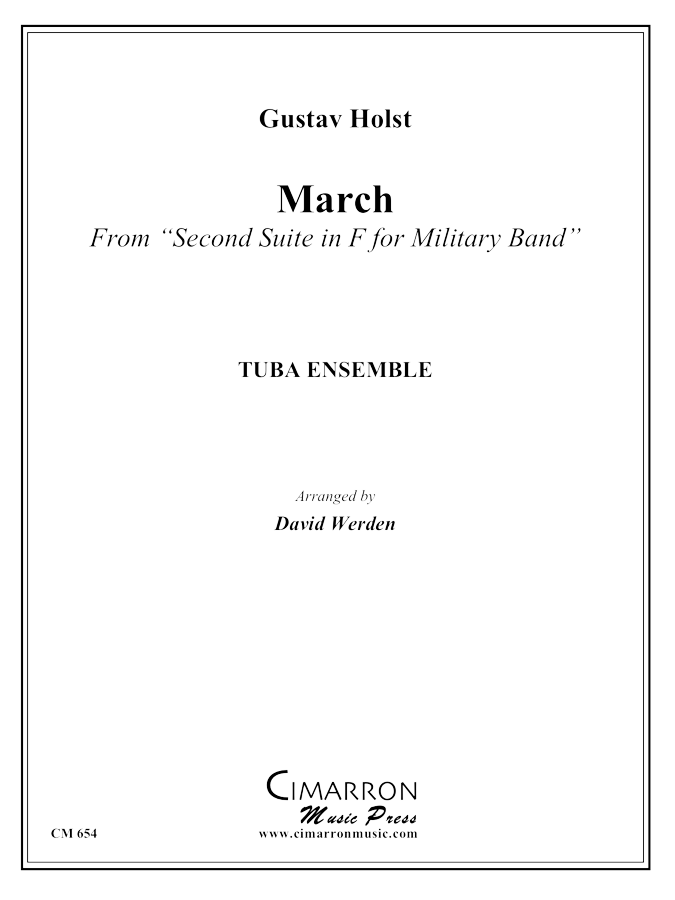 Holst - March from Military Suite in F - Tuba Ensemble