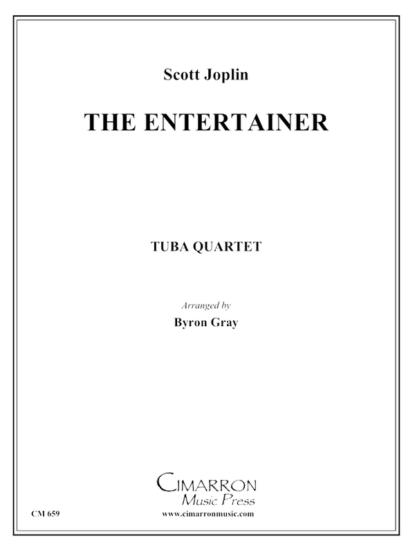 Joplin - The Entertainer - Tuba Quartet (EETT)