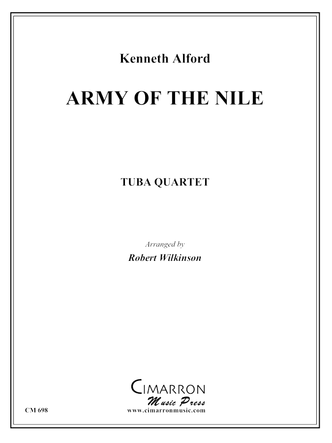 Alfred, K - Army of the Nile - Tuba Quartet (EETT)