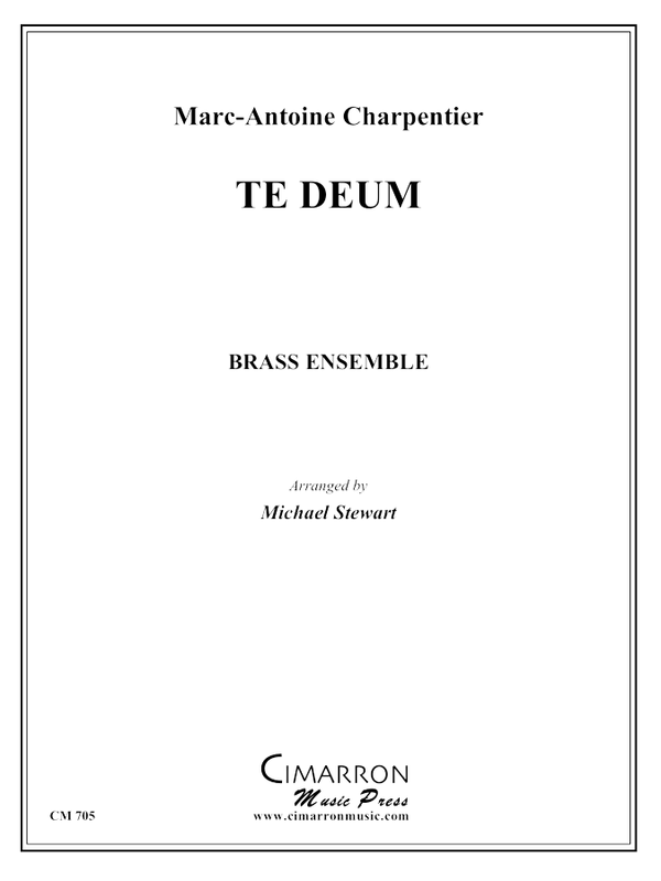 Charpentier - Te Deum - Brass Ensemble