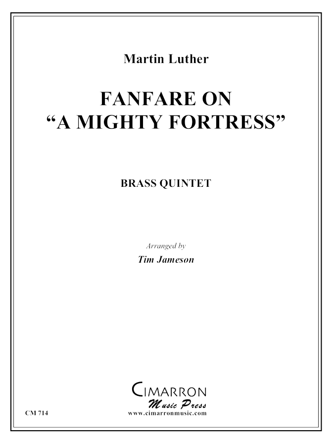 Cherwein - Mighty Fortress Fanfare, A - Brass Quintet