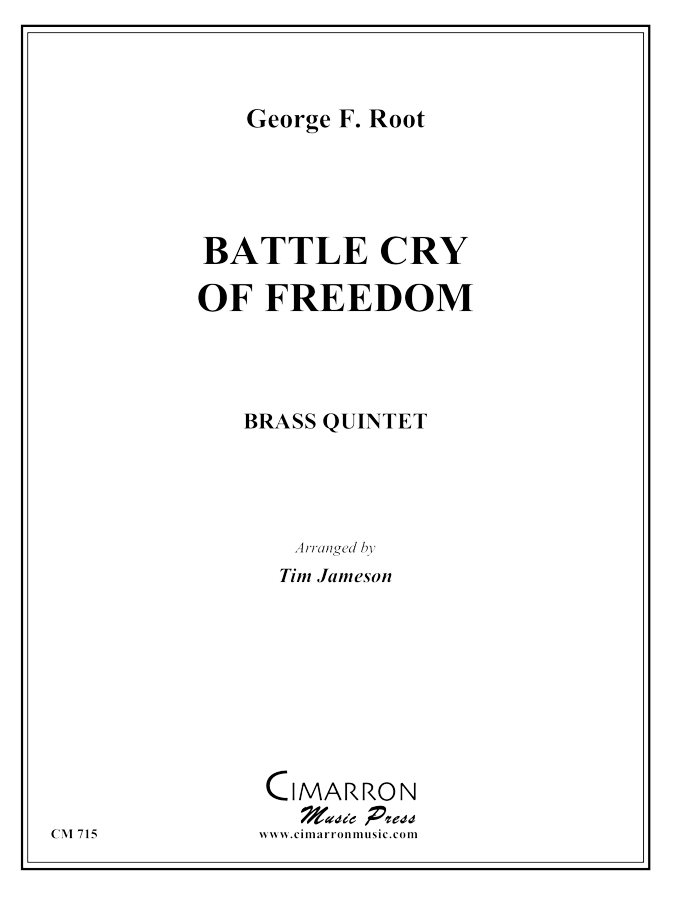 Root - Battle Cry of Freedom - Brass Quintet