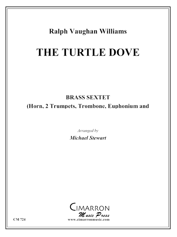 Vaughan Williams - Turtle Dove - Brass Ensemble