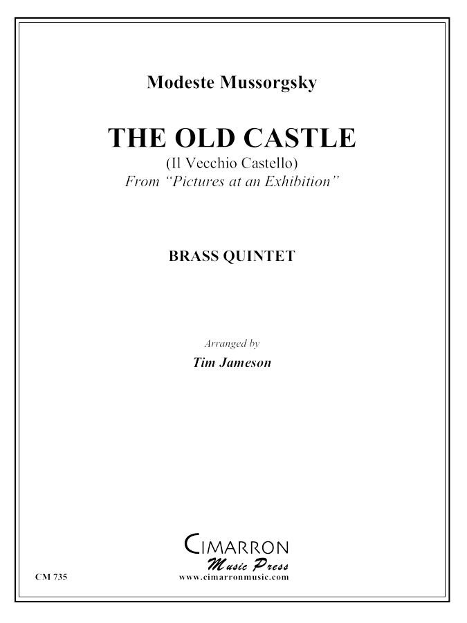 Mussorgsky - Old Castle from Pictures at an Exhibition - Brass Quintet