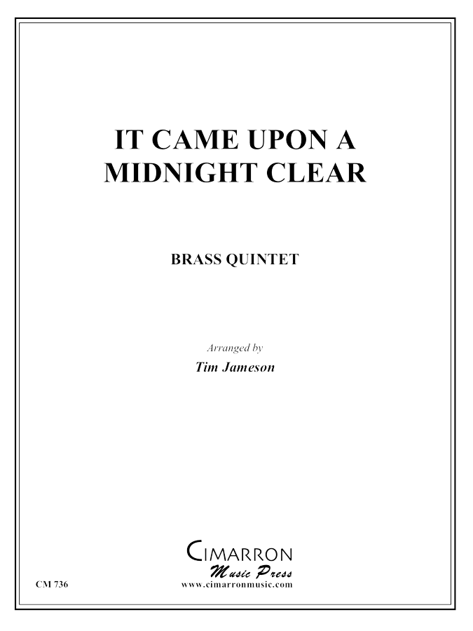 Traditional - It Came Upon a Midnight Clear - Brass Quintet