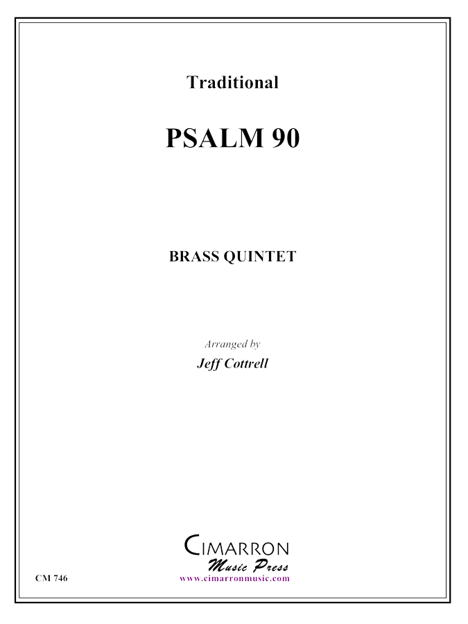 Traditional - Psalm 90 - Brass Quintet