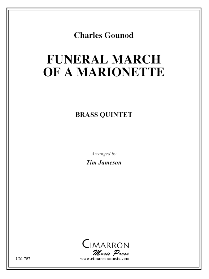 Gounod - March of a Marionette - Brass Quintet