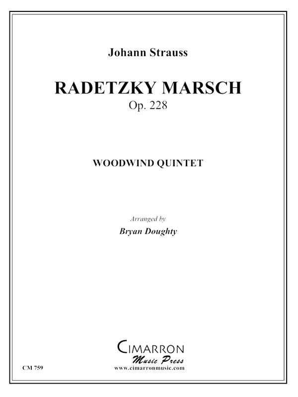 Strauss - Radetzky March - Woodwind Quintet