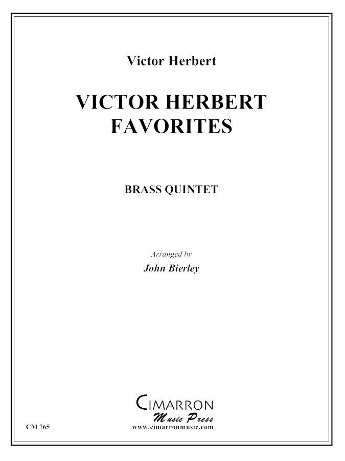 Herbert - Victor Herbert Favorites - Brass Quintet