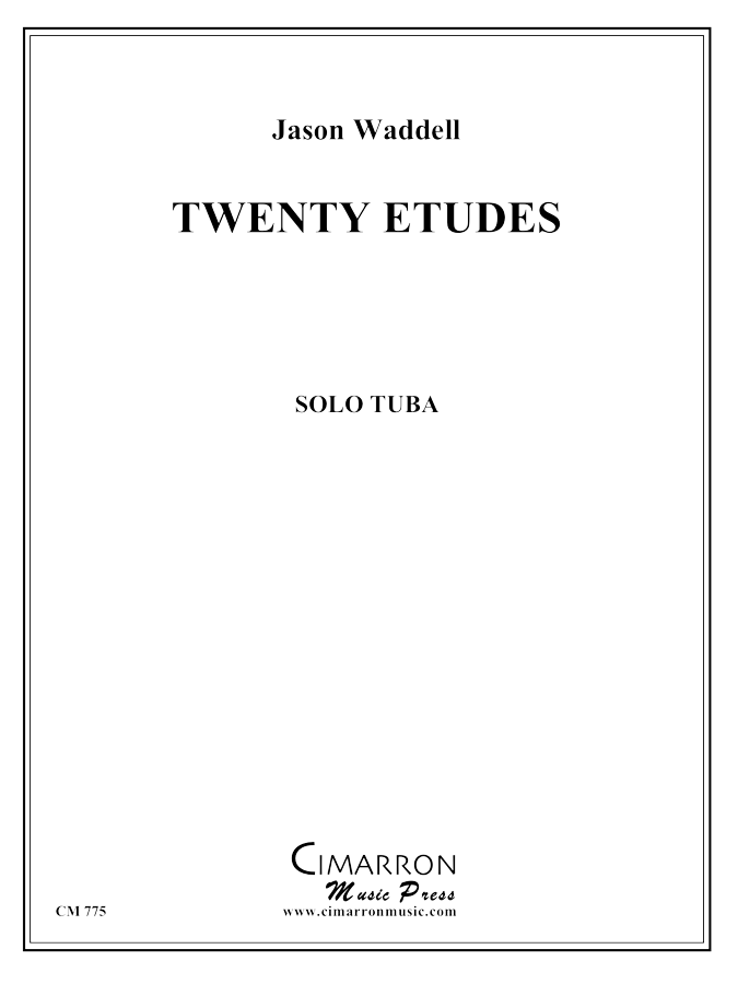 Waddell - Twenty Etudes for Tuba