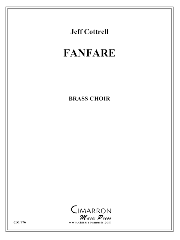 Cottrell, Jeff - Fanfare for Brass Choir - Brass Ensemble