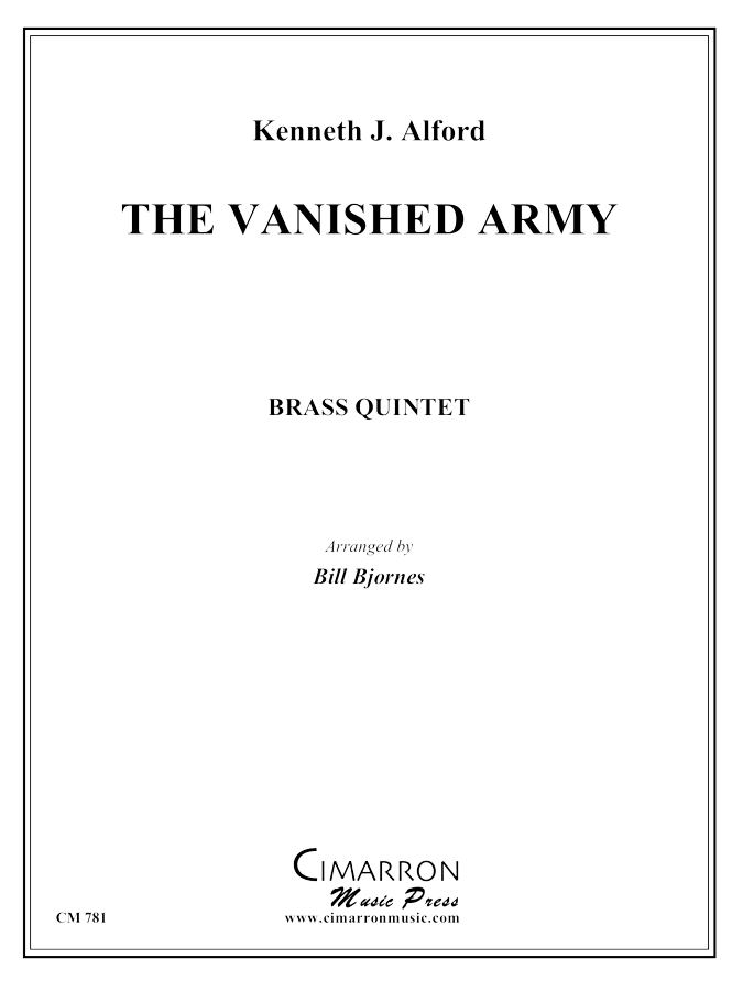 Alford, K - The Vanished Army - Brass Quintet