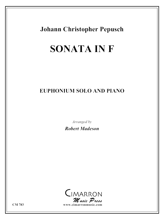 Pepusch - Sonata in F - Euphonium and Piano