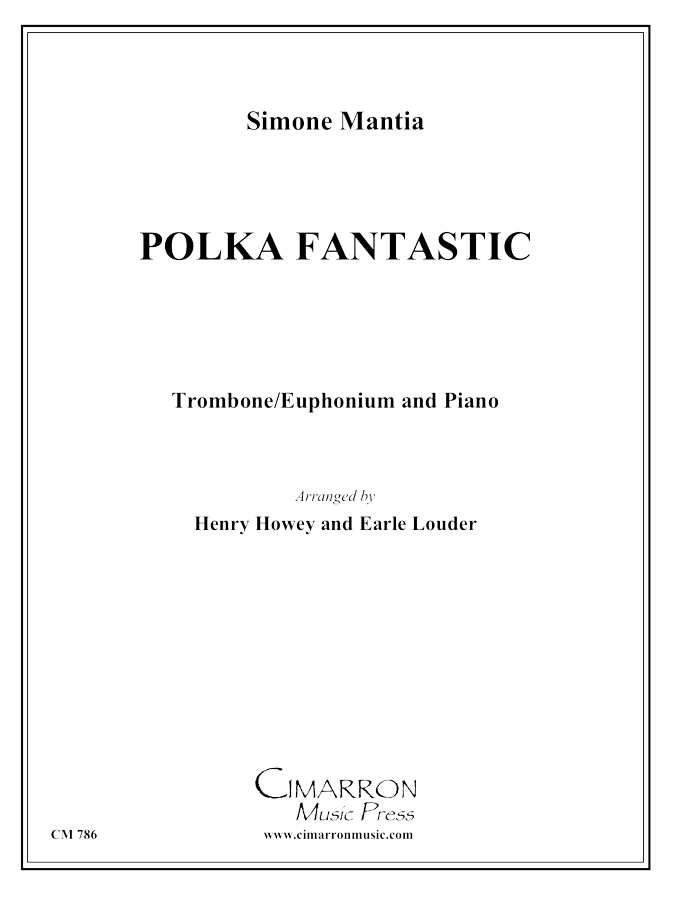 Mantia - Polka Fantastic - Euphonium and Piano