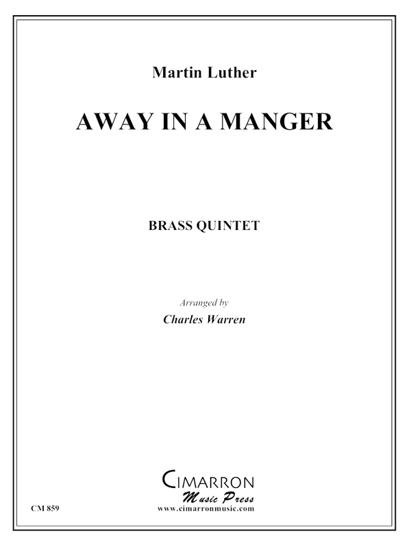Luther - Away in a Manger - Brass Quintet