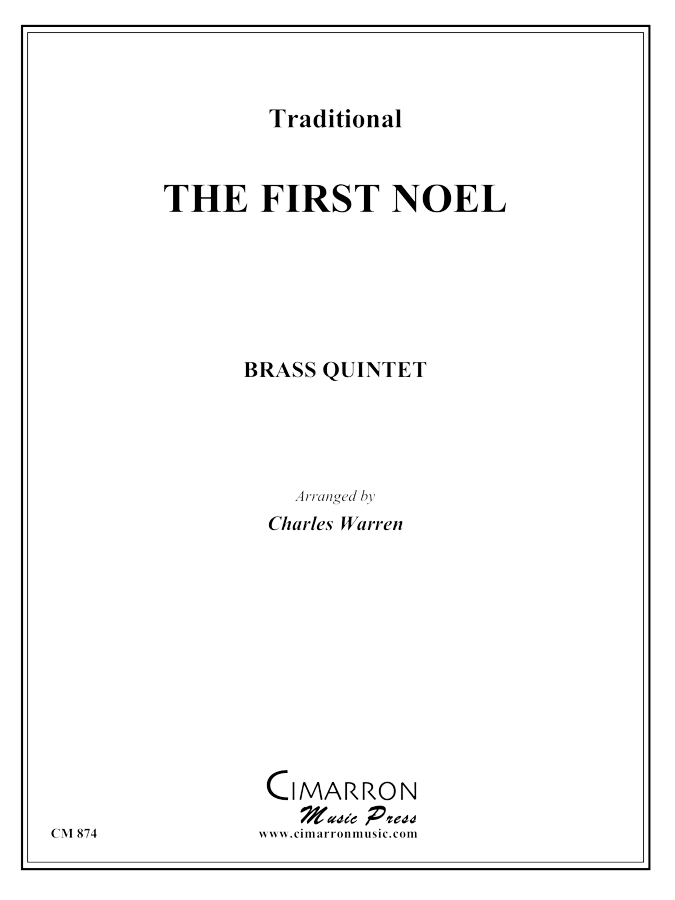 Traditional - First Noel - Brass Quintet
