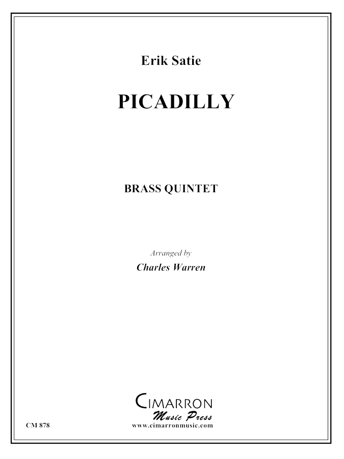 Satie - Piccadilly (1904) - Brass Quintet