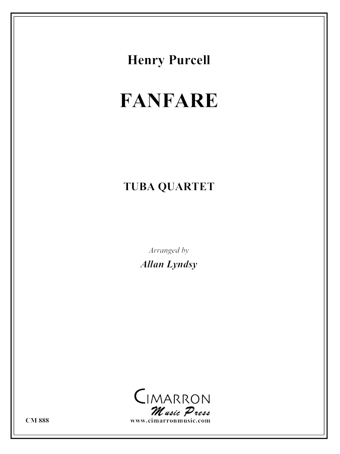 Purcell - Fanfare - Tuba Quartet (EETT)