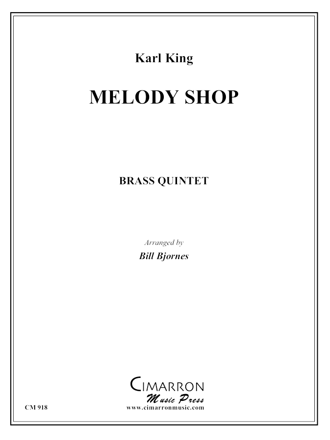 King - Melody Shop March - Brass Quintet