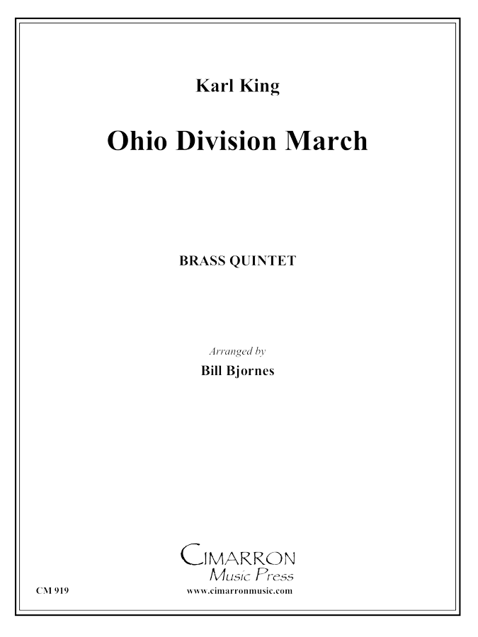 King - Ohio Division March - Brass Quintet
