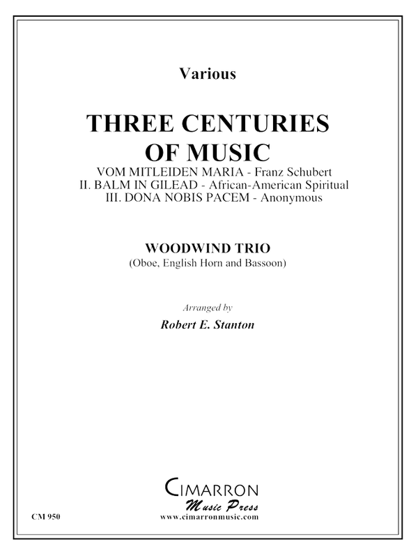 Various - Three Centuries of Music - Woodwind Trio