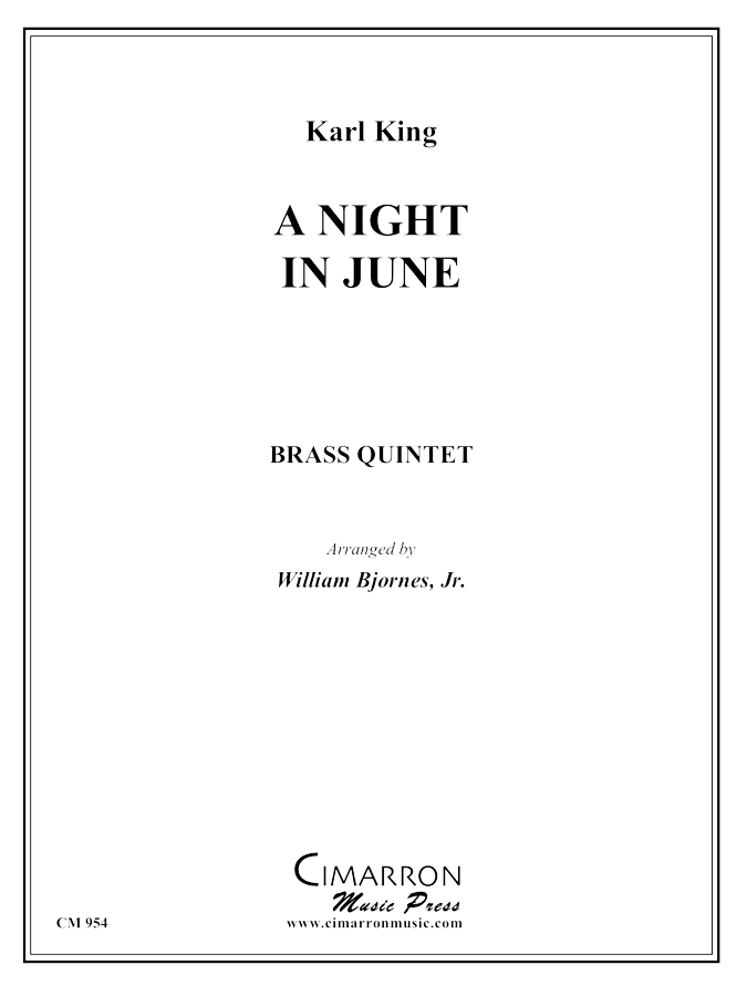 King - A Night in June - Brass Quintet