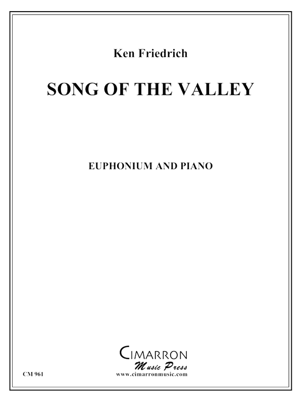 Friedrich - Song of the Valley - Euphonium and Piano