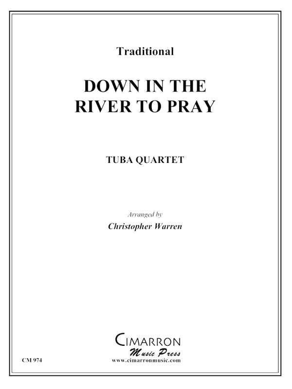 Traditional - Down in the River to Pray - Tuba Quartet (EETT)