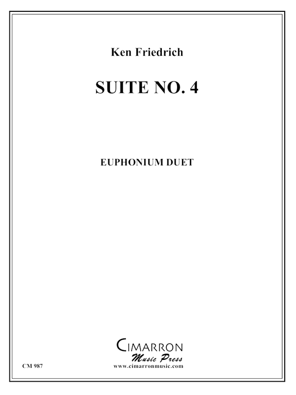 Friedrich - Suite No. 4 - Euphonium Duet