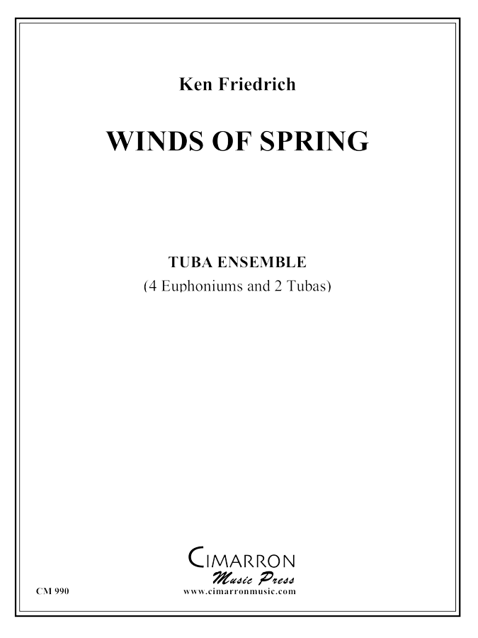 Friedrich - Winds of Spring - Tuba Ensemble