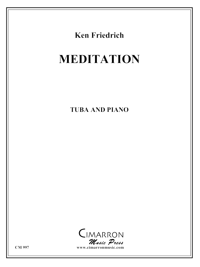 Friedrich - Meditation - Tuba and Piano