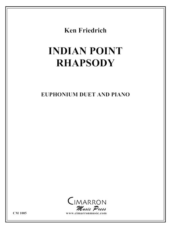Friedrich - Indian Point Rhapsody - Euphonium Duet