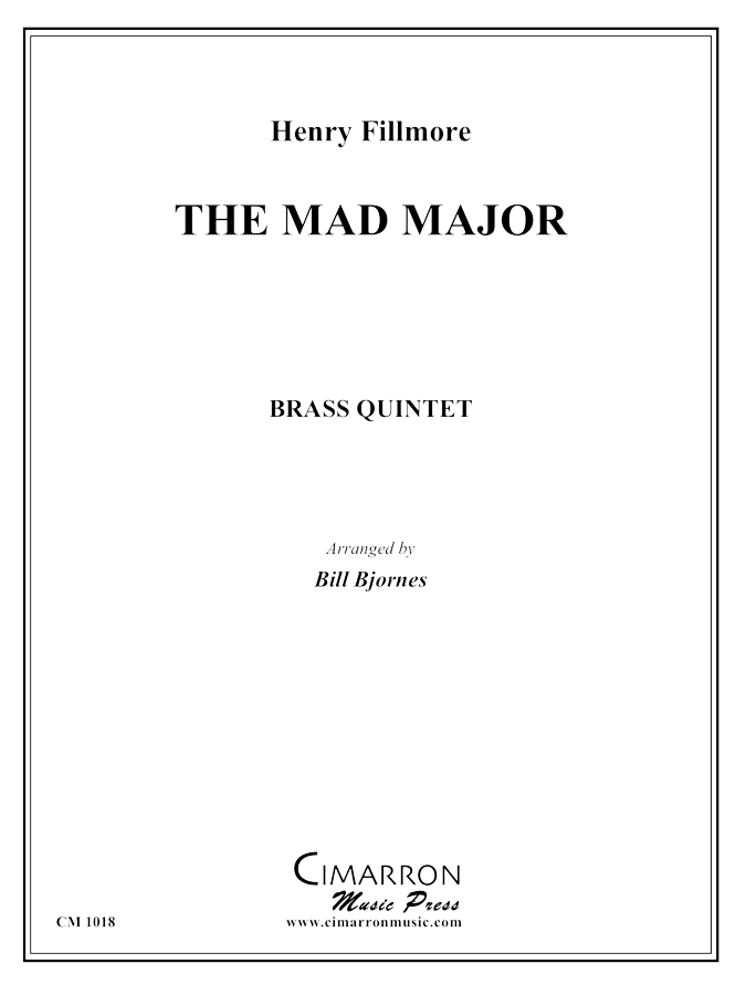 Alford, K - Mad Major March - Brass Quintet