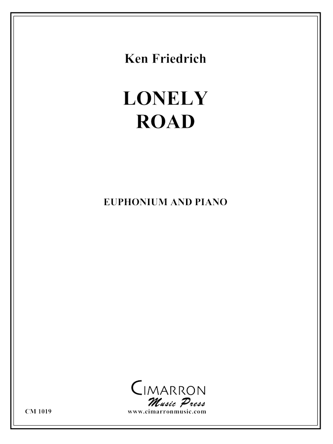 Friedrich - Lonely Road - Euphonium and Piano
