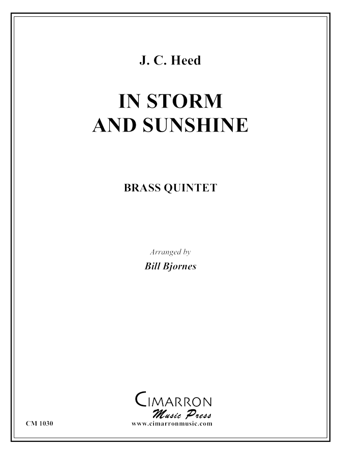 Heed - In Storm and Sunshine March - Brass Quintet