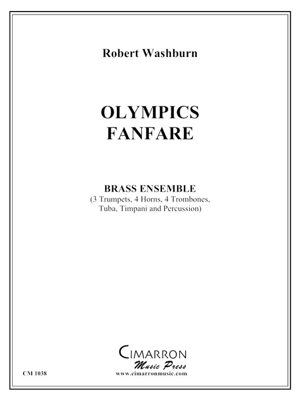 Washburn - Olympics Fanfare (Lake Placid - 1980) - Brass Ensemble