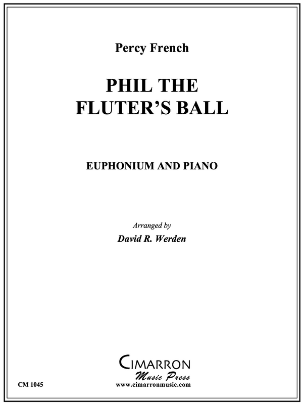 French - Phil the Fluter's Ball - Euphonium and Piano