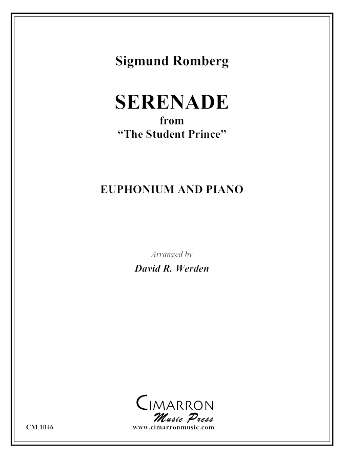 Romberg - Serenade from The Student Prince - Euphonium and Piano