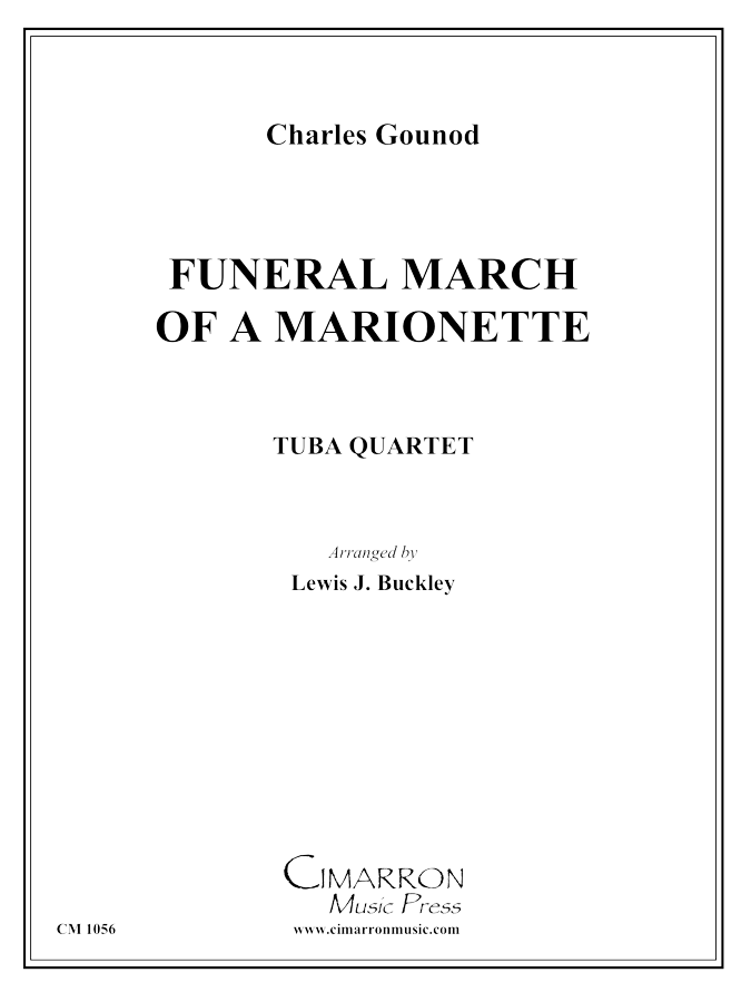 Gounod, Charles - Funeral March of a Marionette - Tuba Quartet