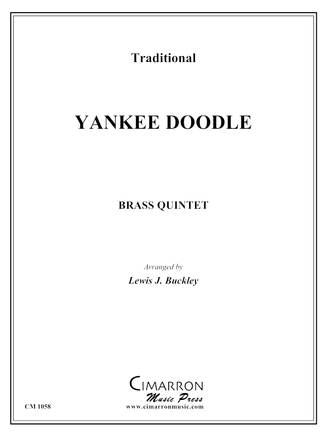 Traditional American - Yankee Doodle - Brass Quintet