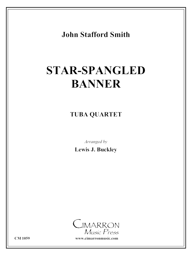 Smith - Star Spangled Banner - Tuba Quartet