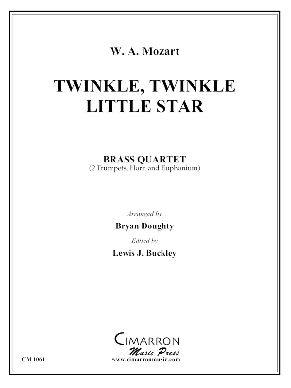 Mozart - Twinkle, Twinkle, Little Star - Brass Quartet