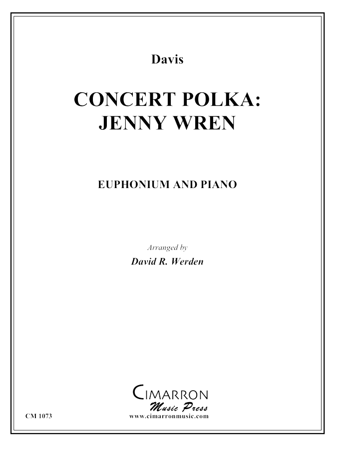Davis - Concert Polka: Jennie Wren - Euphonium and Piano