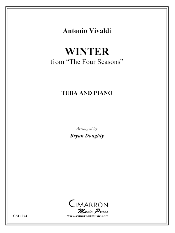 "Vivaldi - Winter from ""The Four Seasons"" - Tuba and Piano"