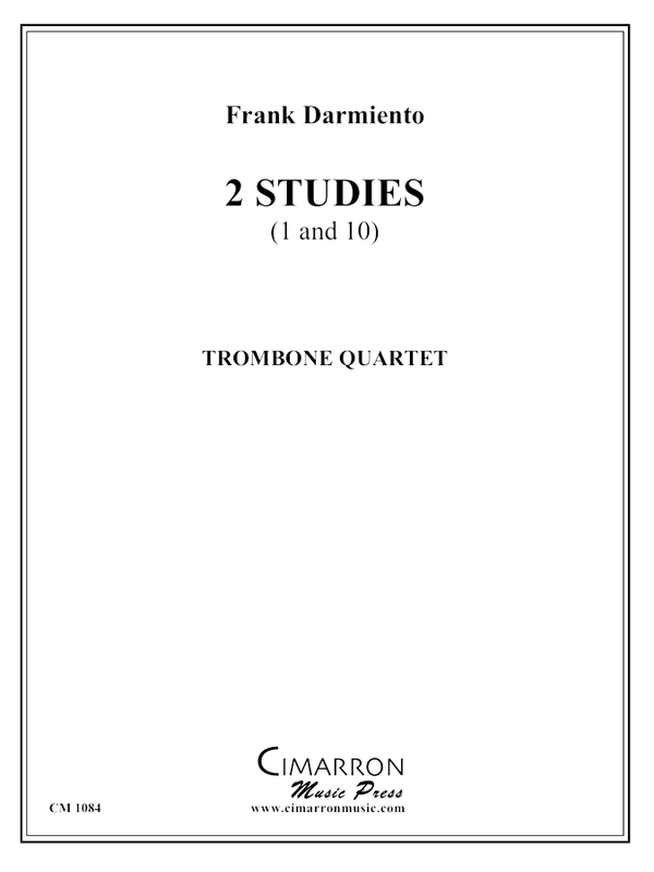 Sor - Two Studies (1 and 10) - Trombone Quartet