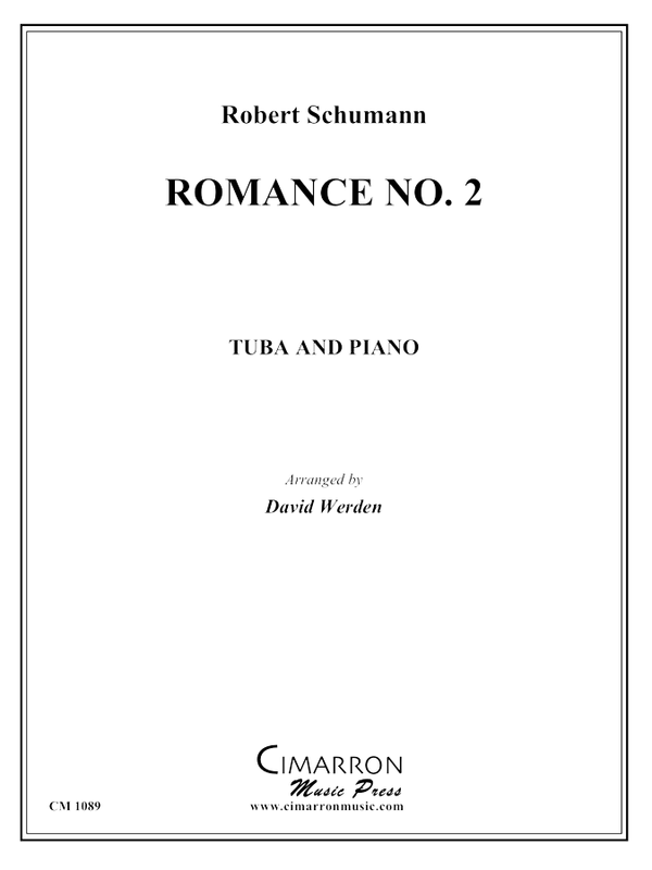 Schumann - Romance No. 2 - Tuba and Piano