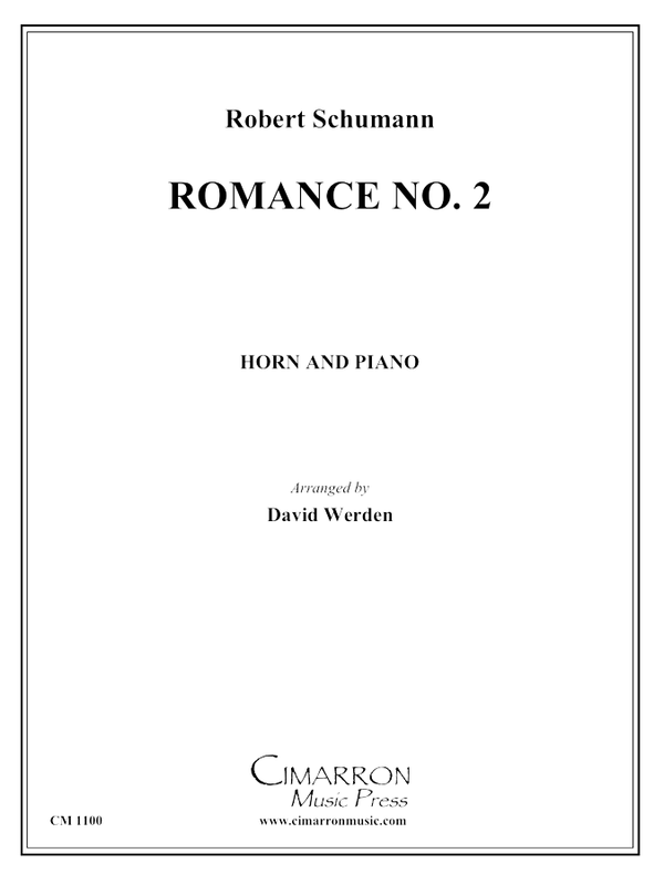 Schumann - Romance No. 2 - Horn and Piano