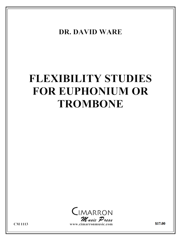 Ware, D - Flexibility Studies for Euphonium or Trombone - Euphonium Methods/Studies/Etudes