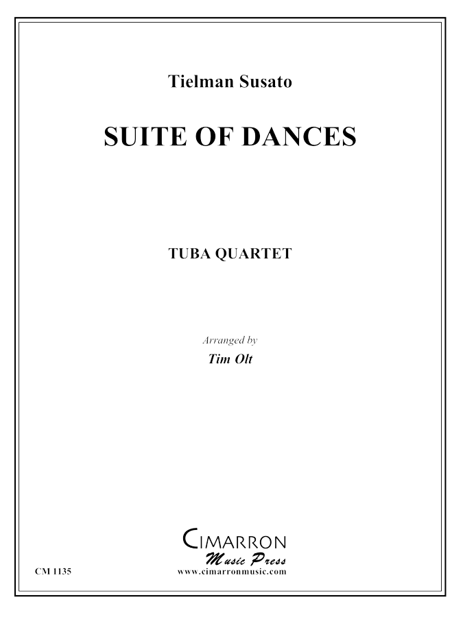 Susato - Suite of Dances - Tuba Quartet (EETT)